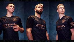 Manchester City yeni sezon deplasman formasını tanıttı!