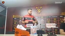 Sport Recife William Farias transferini açıklıyor