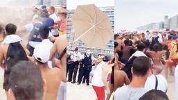 Son dakika... Plajda çığlıklar yükseldi! Korkunç anlar...