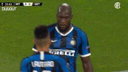 Lukaku'dan Getafe'ye şık gol...