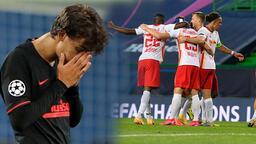 Leipzig'den Şampiyonlar Ligi'nde tarihi başarı! Gözyaşlarını tutamadı...