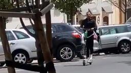Ricardo Quaresma'nın scooter keyfi...
