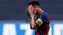 Barcelona'ya tarihi hezimet! 10 gol sesi...