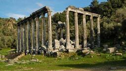 Euromos'taki kazı çalışmaları heyecanlandırıyor