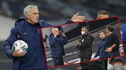 Mourinho çılgına döndü! Soyunma odasına koşup...