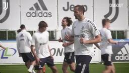 Juventus antrenmanlarını sürdürüyor!