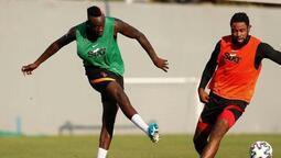 Mbaye Diagne'den Galatasaray antrenmanında müthiş gol!