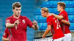 UEFA Uluslar Ligi'nde Norveç'te Haaland - Sörloth şovu! Damga vurdular...