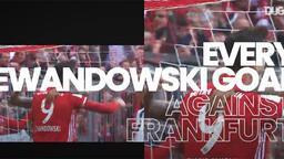 Robert Lewandowski'nin Eintracht Frankfurt'a attığı tüm goller