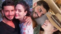 Yıldız Çağrı Atiksoy'dan Berk Oktay'a romantik kutlama!