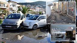 Depremin vurduğu Yunan adasında son durum!