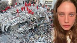 Serenay Sarıkaya'dan İzmir depremi açıklaması