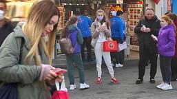 Taksim'de maske ve sigara denetimi! Kuralları çoğunlukla yabancılar ihlal ediyor