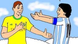Fransız kulübü Nantes'a Maradona karikatürü tepkisi