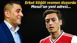 Son Dakika | Erkut Söğüt, Mesut Özil'in yeni adresini duyurdu! Transfer için ilk kez konuştu...