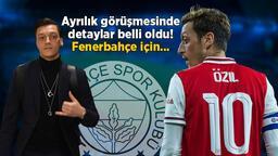 Son dakika transfer haberleri | Mesut Özil'in Fenerbahçe planı ortaya çıktı! Büyük tehlike...