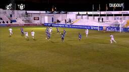 Alcoyano'nun uzatma dakikalarında Real Madrid karşısında galibiyeti getiren golü!