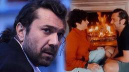 Halil Sezai ile Melike Beşli'nin şömine romantizmi