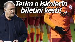 Son Dakika | Galatasaray'da sıcak saatler! Fatih Terim iki futbolcunun biletini kesti, işte o isimler...