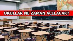 Okullar ne zaman açılacak? Pazartesi 81 ilde okullar açılıyor mu, İstanbul'da da okullar açılacak mı?