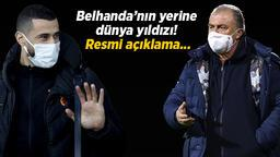 Son dakika transfer haberleri: Galatasaray transfer bombasını patlatıyor! Belhanda'nın yerine dünya yıldızı...