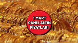 SON DAKİKA: Altın fiyatlarında SERT düşüş! Gram altın, Çeyrek altın alış ve satış fiyatları...