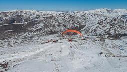 Yıldız Dağı, yamaç paraşütçülerine ev sahipliği yaptı