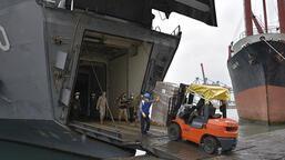 TSK, Lübnan ordusuna 260 tondan fazla gıda yardımında bulundu