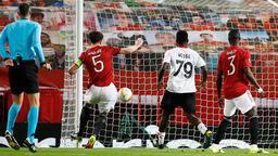 Son dakika - Manchester United - Milan maçında Maguire'den olay hareket! Saç baş yoldurdu...