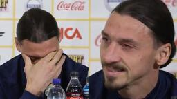 Son dakika - Zlatan İbrahimovic gözyaşlarını tutamadı!