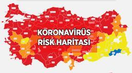 Risk haritası yeni 10 Nisan: Koronavirüs risk haritasında hangi iller düşük, orta, yüksek, çok yüksek riskli?