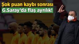Son dakika Galatasaray haberleri: Şok puan kaybı sonrası Galatasaray'da ayrılık! Fatih Terim'den son dakika kararı...