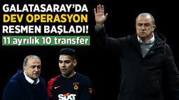 Son dakika Galatasaray haberleri: Karagümrük maçı sonrası Galatasaray'da dev operasyon! Tam 11 isim ayrılıyor 10 transfer geliyor...
