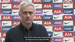 Jose Mourinho: Manchester United mağlubiyetini hak etmedik