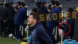 Son dakika - Fenerbahçe'de Emre Belözoğlu çılgına döndü! Kulübeyi tekmeledi