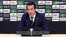 Unai Emery eski kulübü Arsenal hakkında açıklamalarda bulundu!