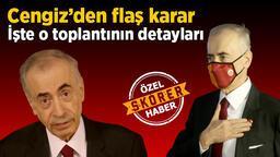 Son dakika Galatasaray haberleri: Galatasaray Başkanı Mustafa Cengiz'den flaş karar! Yöneticiler resmen açıkladı