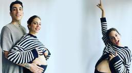 Öykü Karayel-Can Bonomo'nun bebekleri dünyaya geldi