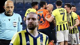 Son dakika - Başakşehir - Fenerbahçe maçında tartışmalı gol! Hakem Cüneyt Çakır'a büyük tepki
