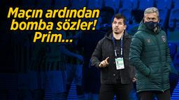 """Başakşehir-Fenerbahçe karşılaşmasının ardından çok konuşulacak sözler: """"Bu işin şakası yok, az mı prim aldınız?"""""""