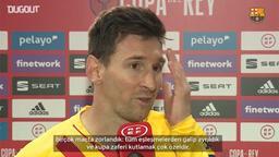 Messi'den şampiyonluk sonrası açıklamalar