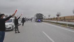 Süper Lig lideri Beşiktaş, Sivas'a geldi