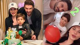 Almeda Abazi ve Tolgahan Sayışman'ın oğlu iki yaşında