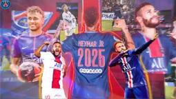 PSG, Neymar'ın sözleşmesini 4 yıl uzattı