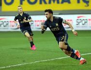 Ankaragücü - Fenerbahçe maçından kareler