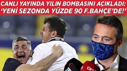 """Son dakika transfer haberi - Fenerbahçe maçının ardından canlı yayında yılın transfer bombasını açıkladı: """"Yüzde 90 Fenerbahçe'de!"""""""