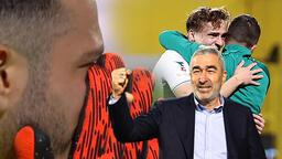 Son dakika - Samet Aybaba fırtınası, omuzlarına aldılar! Maç sonu gözyaşlarını tutamadı