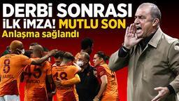 Son dakika transfer haberleri: Galatasaray'dan Beşiktaş derbisi sonrası ilk imza! 2 yıllık anlaşma sağlandı
