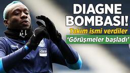 Son dakika Galatasaray haberi: Mbaye Diagne transferinde son dakika! Takım ismi verdiler: Görüşmeler başladı