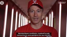 Bayern'li futbolculardan taraftara şampiyonluk mesajları